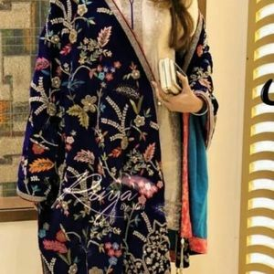 Velvet shawl (Pakistani/Indian shawl)
